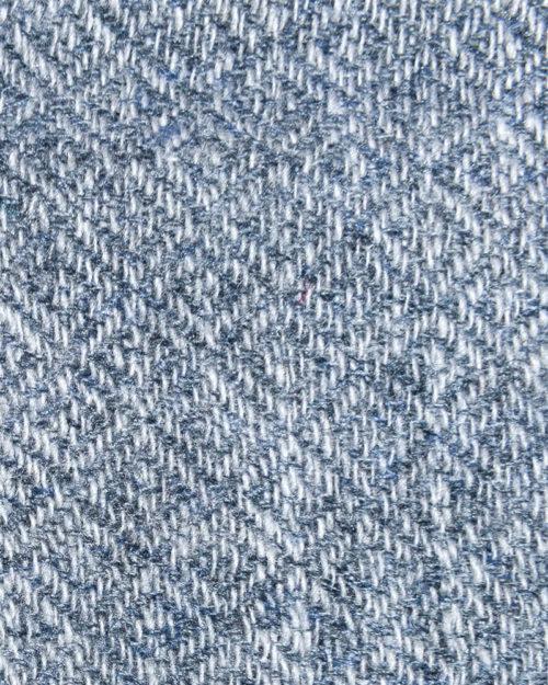 Cashmere Silver Diamond Pattern Half