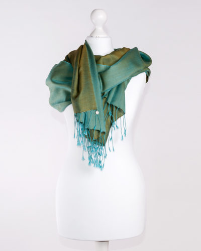 Silk Turquoise/Olive