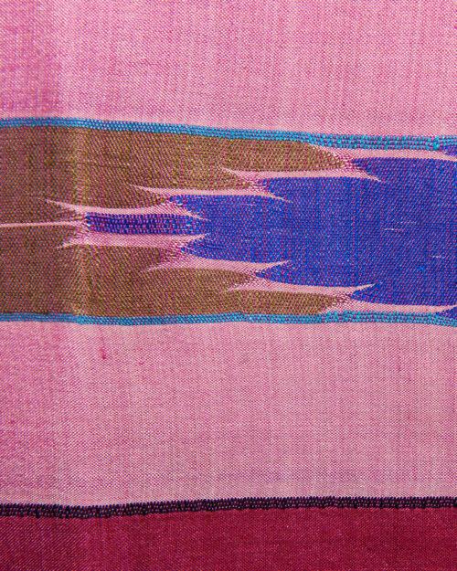 Silk Dhaka Pattern Kalashe A